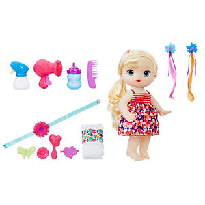 Baby Alive Blonde Cute Hairstyles Baby NEW! | eBay