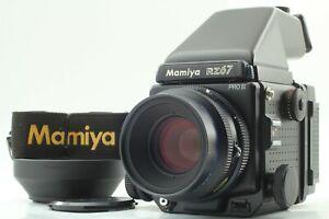 Quasi-Nuovo-con-cinturino-Mamiya-RZ67-Pro-II-Z-110mm-F2-8-W-AE-II-FINDER-dal-Giappone