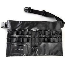 Pro Cosmetic Makeup Brush Apron Bag Artist Belt Strap Holder Toolbelt Black