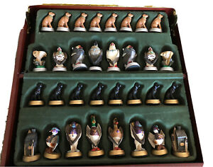 Chess Set Ducks Unlimited Collectors Edition 75th Anniversary Ducks Versus Geese Ebay