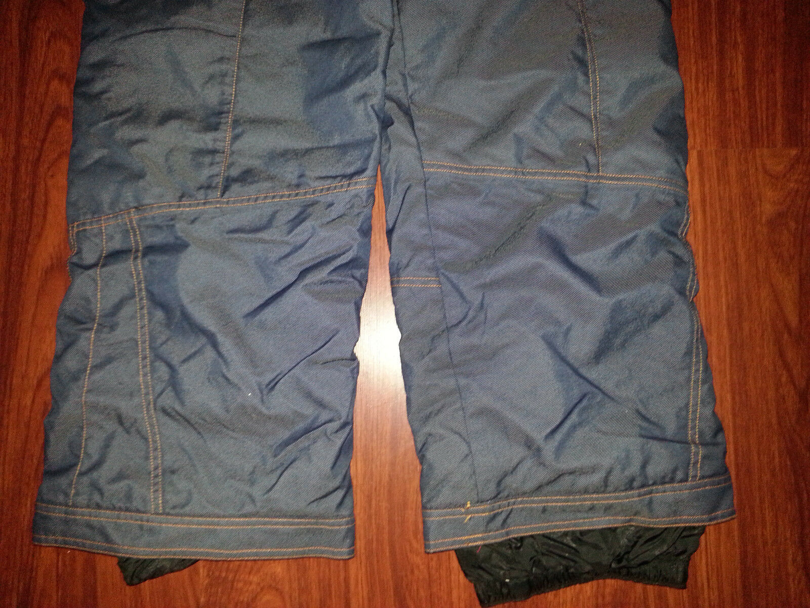 OBERMEYER ALT3 Junior Girl Donna Look blu Denim Jean Look Donna Ski Snowboard Pants Sz 18 70dcc0
