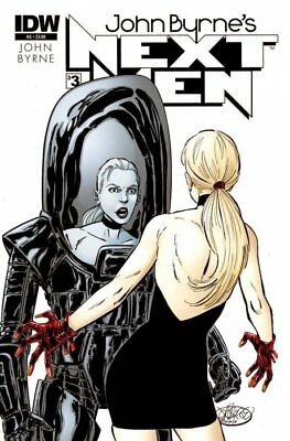 John Byrne's Next Men #3 Idw Fn Comics Other Modern Age Comics