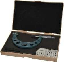 Mitutoyo 3 To 4 Range Mechanical Screw Thread Micrometer