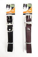 Leather Puppy Dog Cat Pet Collar Neck Strap Quality Adjustable Head Collar