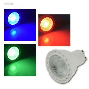 10er Pack LED Leuchtmittel GU10 Hochvolt 230Volt SMD-LED Spots 5 Watt = 50 Watt