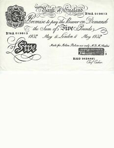 BANK-OF-ENGLAND-MOVIE-PROP-MGM-STUDIOS-DATED-1932-MOVIE-UNKNOWN-NICE-UNC