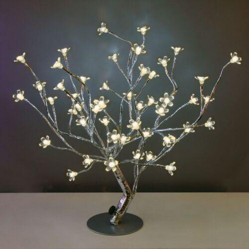 DEL-Arbre 48 warmweisse voyants H 45 cm-Outdoor Arbre Lumières branche arbre-DEL