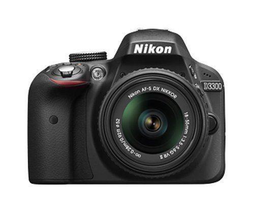 Nikon D3300 24 Megapixels camera with AF-P 18-55mm Lens DSLR CAMERA + Wrnty SMP4