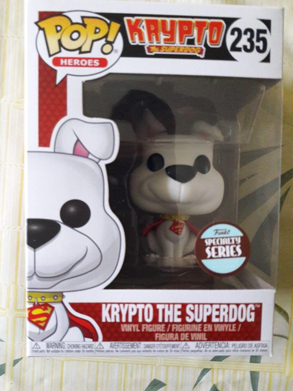 DC Comics - Pop  - Krypto The Superdog (Specialty Exclusive) - Funko