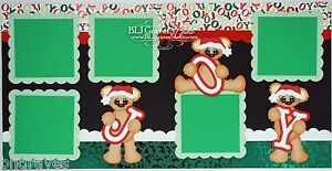 CraftEcafe-Premade-Scrapbook-Pages-Paper-Piecing-Christmas-Bears-BLJgraves-48