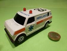 AMERICAN VAN GMC? FORD? - AMBULANCE EMERGENCY - 1:50? - VERY GOOD CONDITION