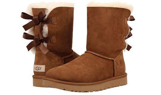 UGG Australia Bailey Bow II Chestnut Boot Women's sizes 5-11/36-42 NEW!!!