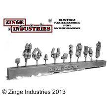 Zinge Industries Braccio Robotico Servo - 1 Braccio con varie teste-canale di colata S-SER01