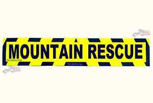MAGNETIC MOUNTAIN RESCUE SAFETY CHEVRONS SIGN CLIMBING SNOW BAG EQUIPMENT MB14