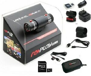 NEW-REPLAY-XD-1080p-PRO-HD-ACTION-SPORTS-CAMERA-VIDEO-KIT-MOTORSPORTS-XD1080