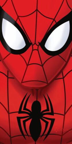 Officiel Disney Ultimate Spiderman Plage Coton Serviette de Bain Cadeau AMAZING MARVEL