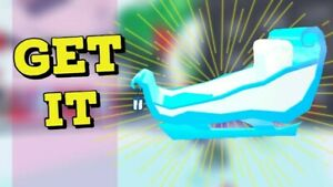SALE ROBLOX ADOPT ME CAR- ICE QUEEN SLEIGH CAR FAST DELIVERY!