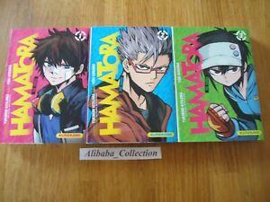 Lote-Manga-VF-Hamatora-1-2-3-Kurokawa-Completo-Serie-Coleccion
