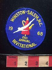Vtg 1968 Winston Salem Invitational NORTH CAROLINA Patch C71J