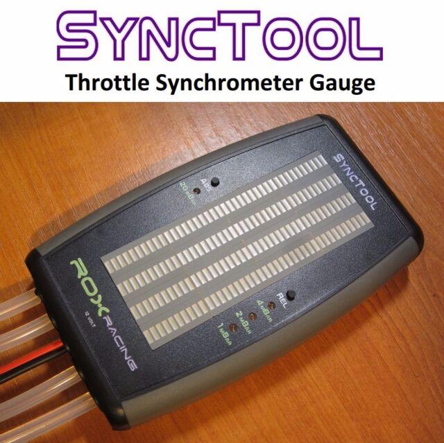 SYNCTOOL DIGITAL Carb Sync Balancer
