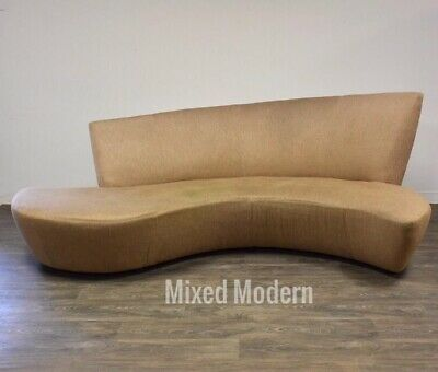Modern Bilbao Sofa By Vladimir Kagan Ebay