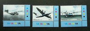 SJ-Air-Transportation-In-Malaysia-2007-Aviation-Aeroplane-stamp-color-MNH