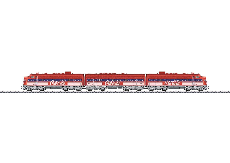 punto de venta en línea Märklin 32 Us Dieselelektrsche Lokomotieve F7 Coco Coco Coco Cola  Mfx  Sonido Nuevo  ventas en linea