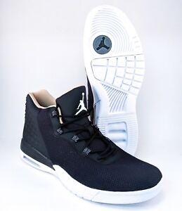 quality design b5c03 a2b42 Image is loading Nike-Air-Jordan-Academy-Basketball-Black-Mens-Size-