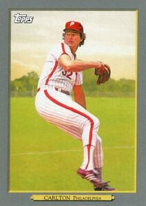 2020 TOPPS  BASEBALL CARD # TR-67 - HOF STEVE CARLTON - PHILADELPHIA PHILLIES