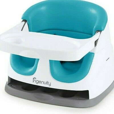 Ingenuity Baby Base 2-in-1 Booster Feeding and Floor Seat ...