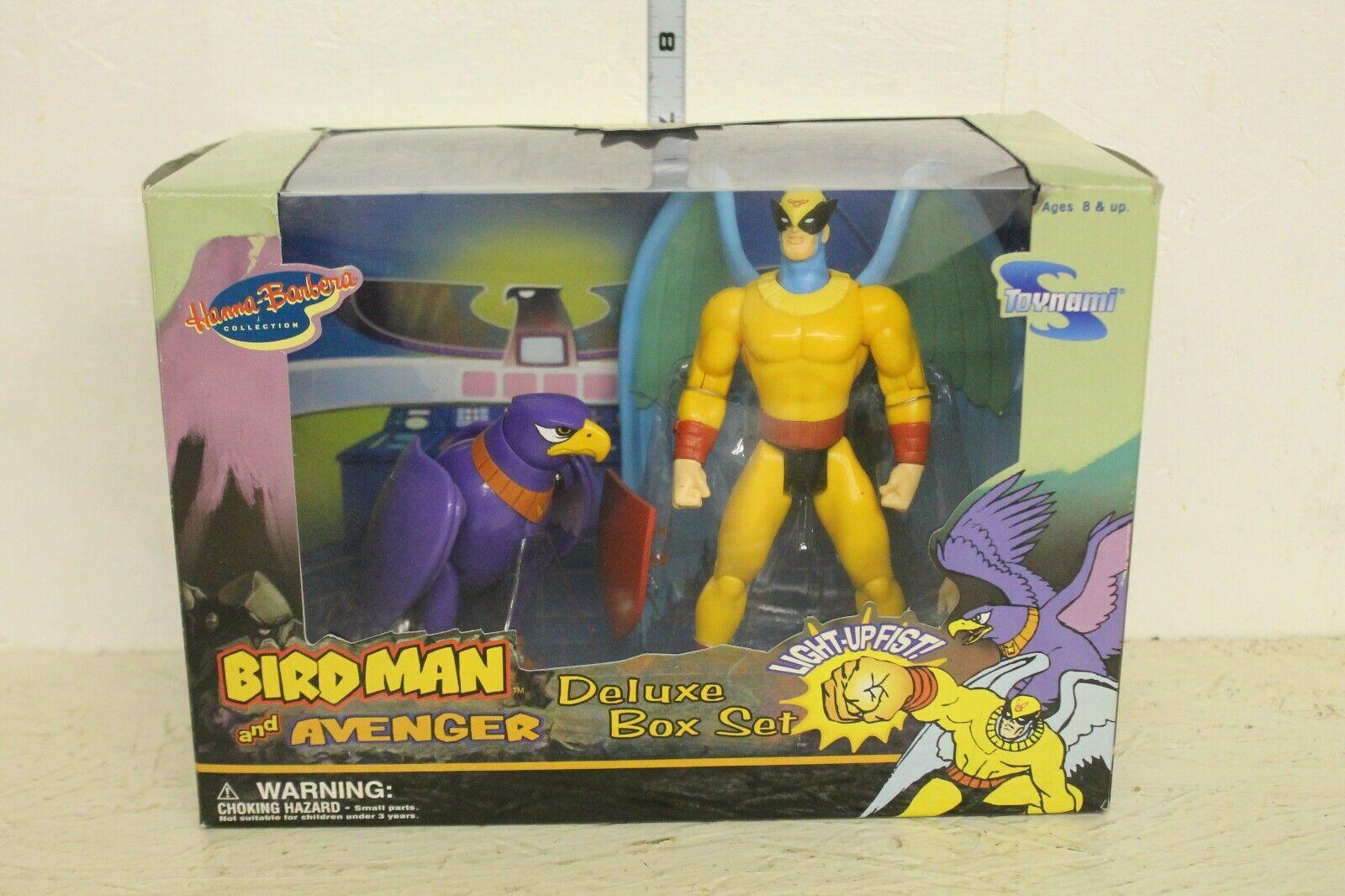 Hanna Barbara Birdman and Avenger Figure set