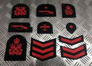Genuine-Royal-Navy-Embroidered-Assorted-Branch-Qualification-Rank-Badges-Various