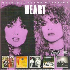 ORIGINAL ALBUM CLASSICS Heart 5 CDs 2013 LITTLE QUEEN to PASSIONWORKS digipak
