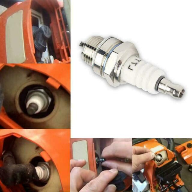 Mower Spark Plug Rep RJ19LM BR2LM For Briggs & Stratton 55*22mm Motor New H8O7