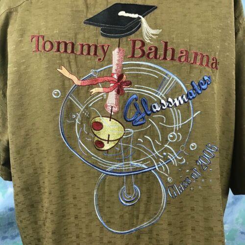 camp médium de en soie classe 2006 Maillot Tommy moyen Compagnons de Bahama olive hawaïen iTkuwXZOP