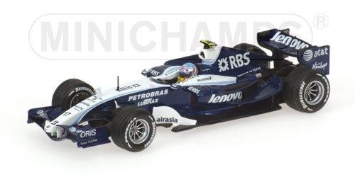 Williams fw29 A. Wurz 2007 1 43 Model MINICHAMPS