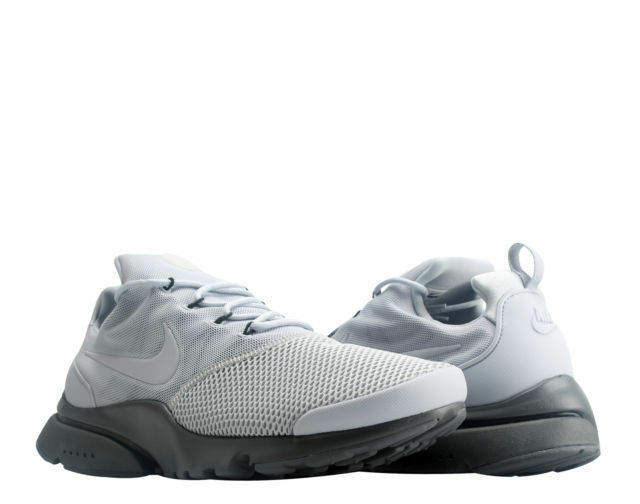 the best attitude 78c43 d18f5 Nike Presto Fly Mens Running Shoes 11 Wolf Grey Dark Grey 908019 005 for  sale online   eBay