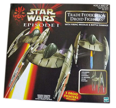 Star Wars Trade Federation Droid Fighters Episode 1