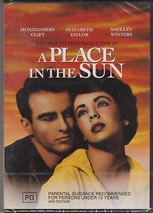 A-PLACE-IN-THE-SUN-MONTGOMERY-CLIFT-ELIZABETH-TAYLOR-DVD-NEW