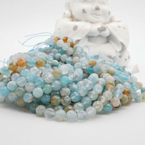 Nellys achat encararán 1 Strang azul claro//turquesa perlas piedras preciosas DIY