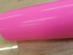 """Neon Pink Cutting Sign Lettering Craft Vinyl 24/"""" Adhesive Backed Decal Roll"""