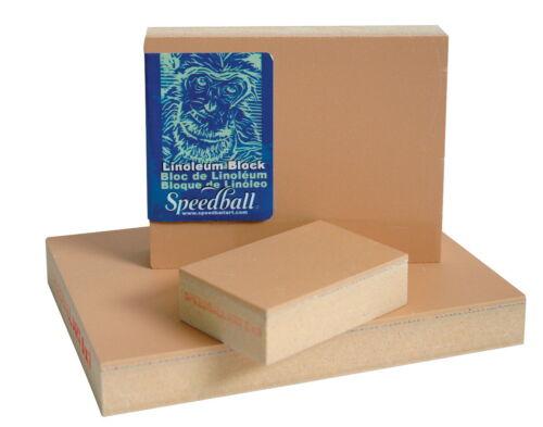 Speedball Linoleum Block Smoky Tan 9 X 12 in