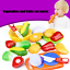12PC-Kits-Cutting-Fruit-Vegetable-Pretend-Play-Children-Kid-Educational-Toy-US thumbnail 1