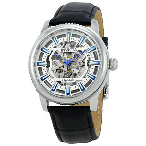 Invicta-Objet-D-Art-Automatic-Silver-Skeleton-Dial-Mens-Watch-22610