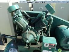 New Listingdual 5 Hp Air Compressor 120 Gal Horizontal