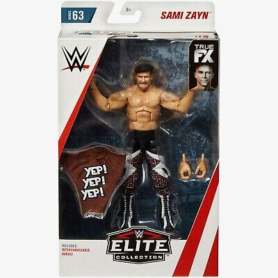 WWE SAMI ZAYN ELITE SERIES 63 NEW BOXED BNIB