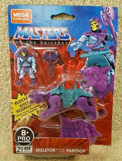 New Mega Construx He Man Masters of the Universe Skeletor & Panthor