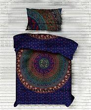 Indian Duvet Doona Cover Comforter Mandala Hippie Bohemian Reversible Quilt Set