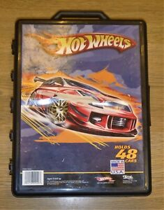 Vintage-Hot-Wheels-Car-Carry-Case-Includes-48-x-1970-039-s-Vehicles