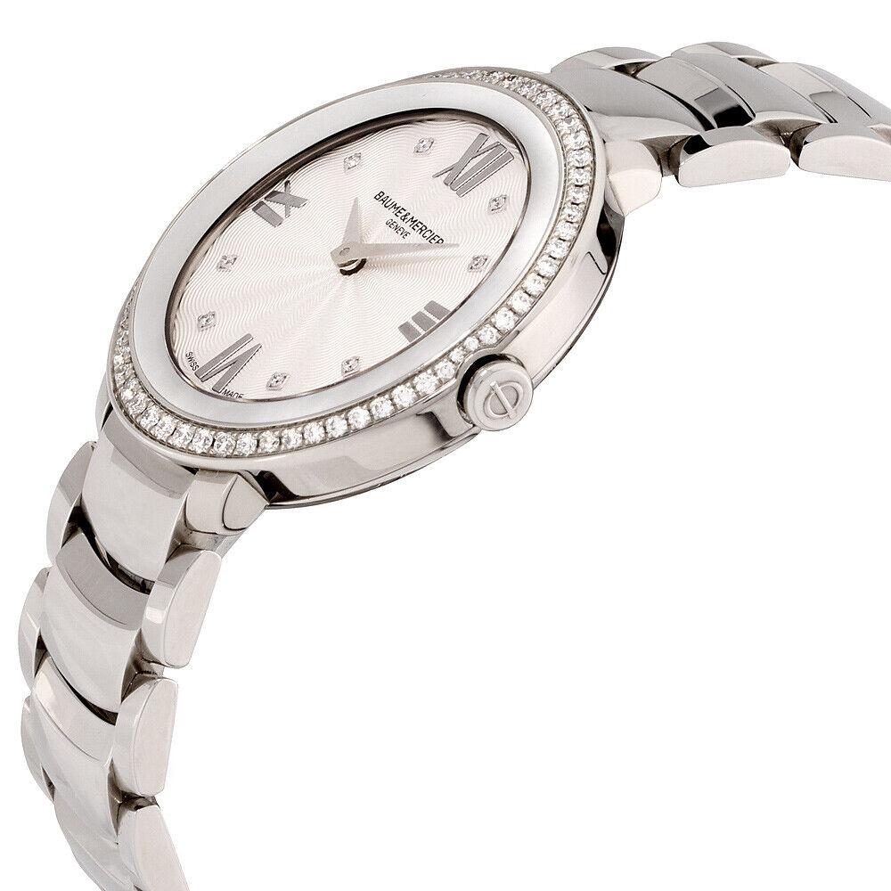 Baume Mercier Promesse Quartz Movement Silver Dial Ladies Watches M0A10199 | Ebay